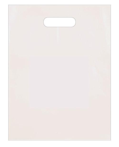 Short Run White Plastic Patch Handle - 12x15x4