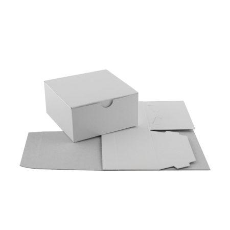 White Gift Boxes - 4x4x2
