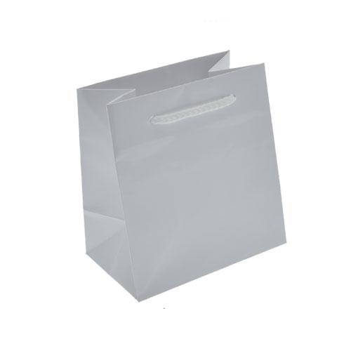 Euro Tote Matte White - 5.5x3.5x6