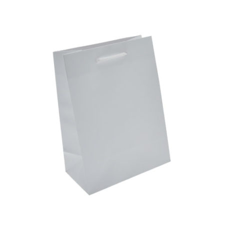 Euro Tote Matte White - 6.5x3.5x8.5