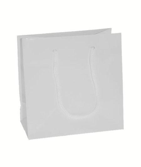 Euro Tote Matte White - 6.5x3.5x6.5