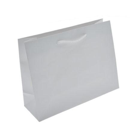 Euro Tote Matte White - 9x3.25x7